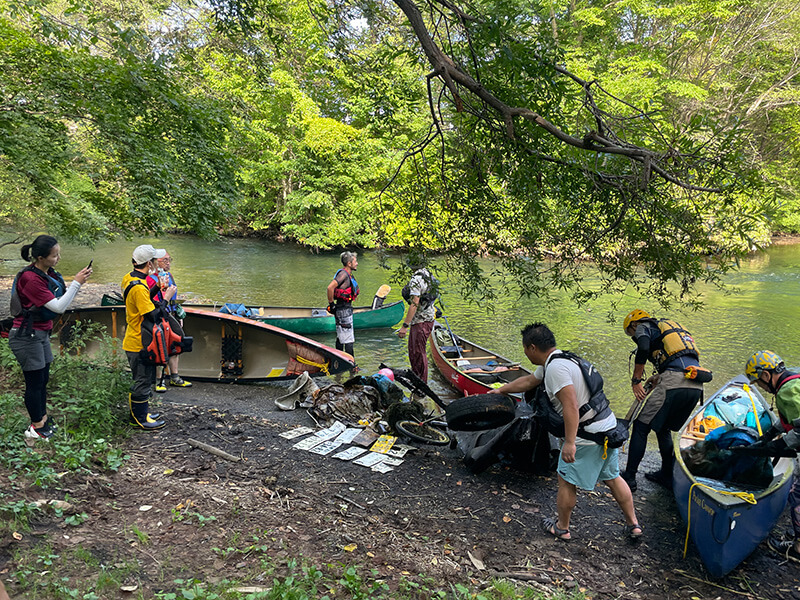 「RIVER CLEAN DAY in chitose」に協力